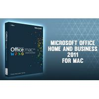 Microsoft Office 2011 Home and Business for Mac- for Mac online activation - license Manufactures
