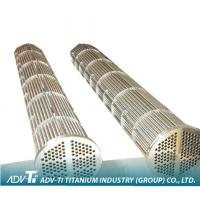 ASTM B338 / B337 Alloy Titanium Heat Exchanger Tube GR1 / GR2 / GR3 For Seawater Equipment Manufactures