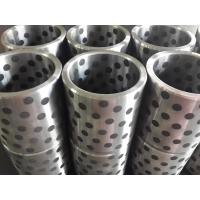 Steel(FC250&HT250&45#) bushing with solid lubricant graphite FGB standard misumi bushing Manufactures