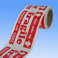 Buy cheap Fragile Label with Water Base Adhesive, Measuring 3 x 5 inches from wholesalers