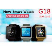 Intelligent IOS / Android Phone stopwatch clock Smartwatch With Sim Card Manufactures