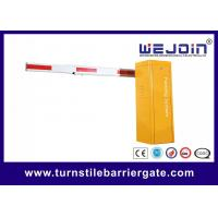 Economic Parking Barrier Gate , Manual Release Security Entrance Gate Manufactures