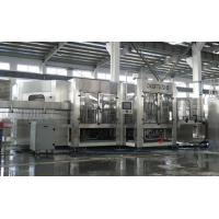 China Complete Automatic Juice Filling Machine , Carbonated Beverage Filling Machine on sale