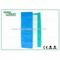 100% PP Nonwoven Disposable Bed Sheets For Travel Light Blue / White Color Manufactures