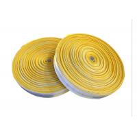 Canvas Braided Cloth Air Slide Belt PU Coated For Roller Conveyor Systems Manufactures