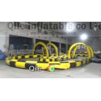 18oz PVC Tarpaulin Inflatable Sports Games Karting Car Inflatable Tunnel Manufactures