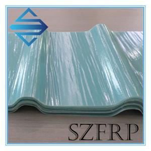 China Translucent Corrugated Fiberglass Panels on sale