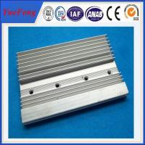 aluminium extrusion t5 aluminium heatsink supplier, 6063 aluminum profiles heatsink fin Manufactures