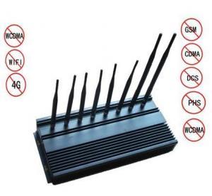 8 Antennas High Power Jammer , WIFI Blocker high power cell phone jammer Manufactures