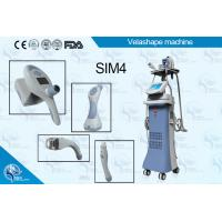 High quality Velashape Vacuum+RF+LED+Roller+IR body sculpting Skin Tightening Slimming Machine velashape Manufactures
