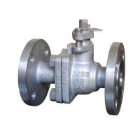 2 Pieces Floating Ball Valve Operating Type Lever Handle Pressure Rating Pn25 Manufactures