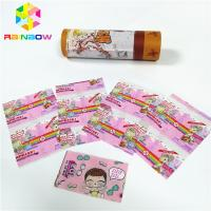 PVC PET Shrink Sleeve Labels Waterproof Wrap Film Tube Plastic Bottle Box Packaging Manufactures