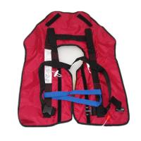 China Adult / Child Use Inflatable Life Vest 150N Buoyancy 24H Floating Time on sale