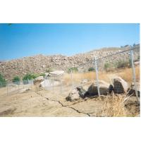 ASTM A 392 heavily galvanized chain link fence with 6ga wire Manufactures