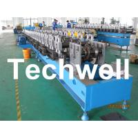 Custom Automatic Guardrail Post Roll Forming Machine With Welded Structural Steel TW-SG100 Manufactures