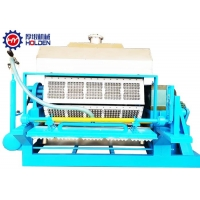 China 5000 pcs/hr Big Capacity Paper Recycled Egg Tray Production Line Forming Machine For Egg Crate on sale