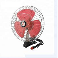Auto Electric Cooling Fans For Trucks , Red And Silver Cooling Fan For Car Manufactures