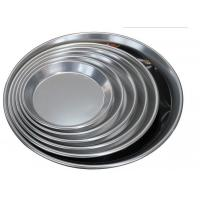 Alum Alloy Bright Surface Pizza Oven Tray , Pizza Baking Tray For Home Kitchen Manufactures