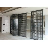 China Brushed black titanium stainless steel screen , price stainless steel wall plating foshan on sale