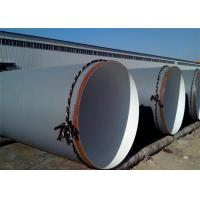 China ASTM A36 SSAW 3PE Coating Round Steel Pipe , API 5L SCH40 Spiral Welded Oil Line Pipe on sale
