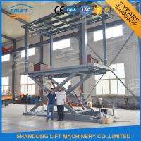 Hydraulic Mobile Scissor Car Lift For Basement Cheap Car Lifts Garage Elevator Manufactures