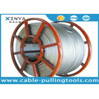 High Strength Anti Twist Wire Rope with Hexagon 12 strands structure For Pilot Rope Manufactures