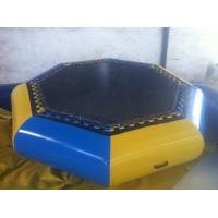 Customzied Inflatable Water Toys , Inflatable Water Trampoline For Jumping Manufactures
