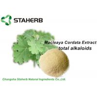 Macleaya Cordata Extract Phytogenic Feed Additives 60% Alkaloids Chelerythrine With Sanguinarine Manufactures