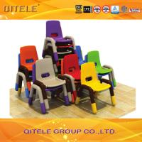 Quality PP Plastic Play Table And Chair Set With Hole Multi Color Small for sale