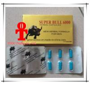 Super Bull 6000 Sex Pills for Men Enhancer Super Bull 6000 herbal formula Sexual Enhancer for Sex Capsules Manufactures
