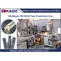 Multilayer Plastic Pipe Production Line PB EVOH Oxygen Barrier Pipe Production Machine Manufactures