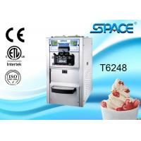 Professional Automatic Soft Serve Ice Cream Maker Countertop Air Cooling Manufactures