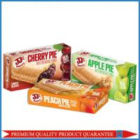 Food Grade Customized Color Print Fruit Pie Apple Paper Packaging Box Manufactures