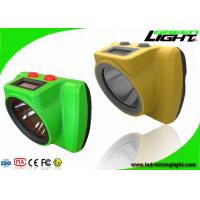 25000Lux Cordless Mining Cap Lights Impact Resistant Handy Switch Personal Safety Tracking Manufactures