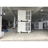 China Geodesic Dome Tent Temporary Chillers And Air Handlers / 14 T Ducted Air Conditioner For Exhibition Events on sale