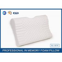 Antimicrobial Memory Foam Neck And Back Massage Pillow With Kneading Massage Nodes Manufactures