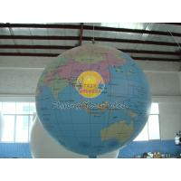 7ft Diameter Inflatable Advertising Helium Earth Balloons Globe for Political events Manufactures