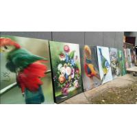 China 3d lenticular manufactuer large size 3d poster large format lenticular advertising poster 3d flip printing Manufactures