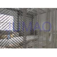 Rust Resistance Half Sheer Metal Mesh Curtains For Hall Divider 1.0mm Wire Manufactures