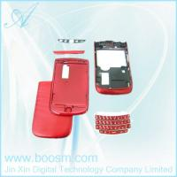 China Red Housing Cover For Blackberry 9800 Replacement on sale