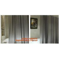 New popular transparent printed peva shower curtain, Polyester Shower Curtain