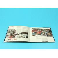 Quality 400gsm Hardcover Book Printing For Catalogue / Brochure / Magazine for sale