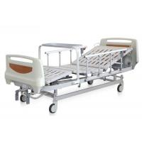 China Movable Manual Hospital Bed , Medical Full Fowler Bed ABS Head / Foot Board on sale