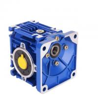 Worm Shaft Mounted RV Reducer , Worm Reducer Gearbox Standard Port Size Manufactures