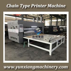 China Chain Type Flexo Printer Slotter Machine on sale