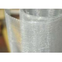 Aluminum Alloy Bug / Fly Screen Mesh Low Melting Point For Window And Filter Manufactures