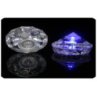 Party Use Pyramid Shape Led Light Ice Cubes By Replaceable 2 * Cr1220 Button Cell Manufactures