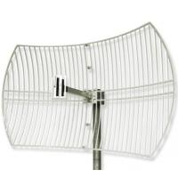 2.4G WIFI Grid Parabolic Antenna With 24dbi Manufactures