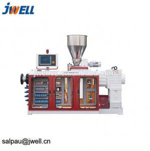 China Soft Rigid PVC Twin Screw Pelletizer , Plastic Pelletizing Equipment 500-700kg/H on sale