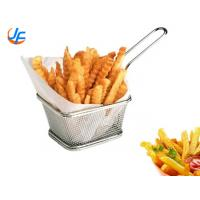 Mini Metal Stainless Steel Wire Mesh French Fries Fry Holder Basket For Potato Chips Manufactures